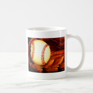 Baseball Artwork Coffee Mugs