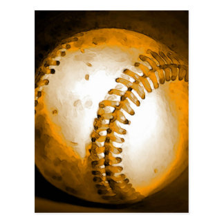 Baseball Artwork Postcard