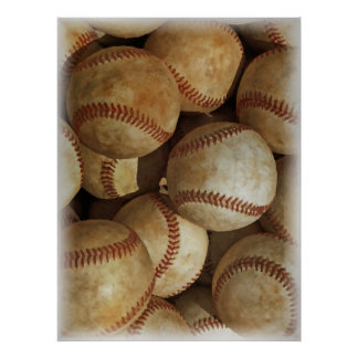 Baseball Artwork Poster