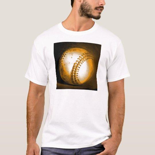 Baseball Artwork T-Shirt