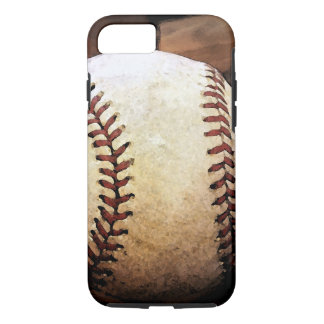 Baseball Artwork Tough iPhone 7 Case