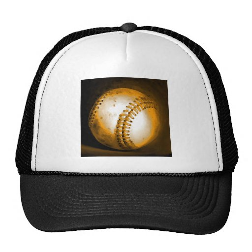 Baseball Artwork Trucker Hats
