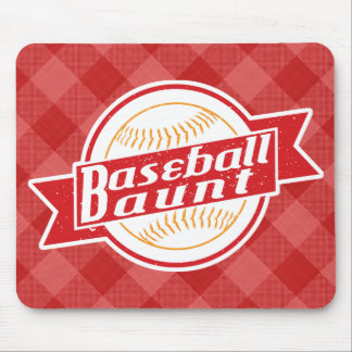 Baseball Aunt Mousemat Mouse Pad