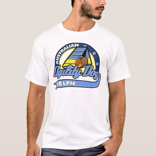 Baseball Australian Kelpie Agility T-Shirt