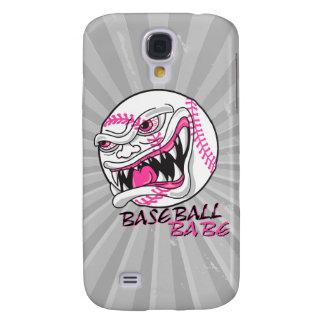 baseball babe girl baseball player fan design samsung galaxy s4 cover