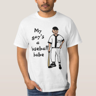 Baseball Babe T-Shirt Double-Digit