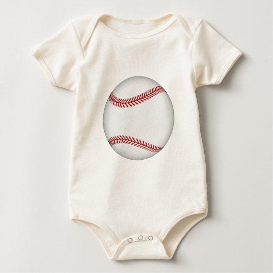 Baseball: Baby Bodysuit