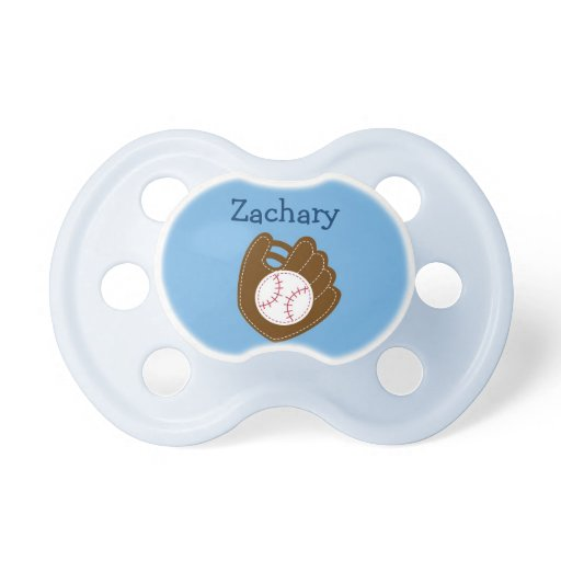 Baseball Baby Boy Personalized Pacifier