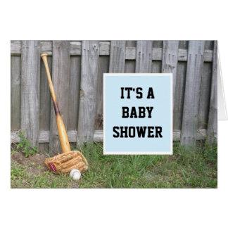 Baseball Baby Shower Invitation Stationery Note Card