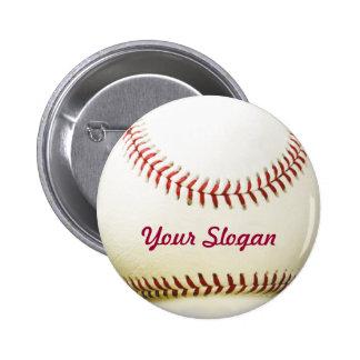 Baseball Badge Pin Button