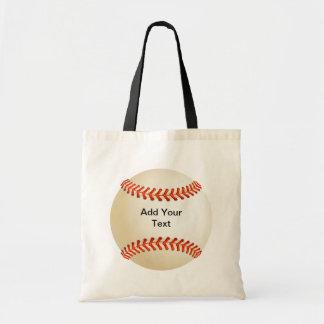 Baseball Canvas Bag