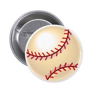 Baseball Ball 2 2 Inch Round Button