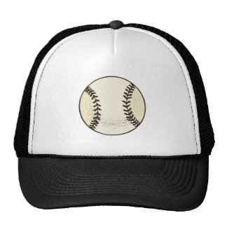 Baseball Ball 3 Mesh Hat