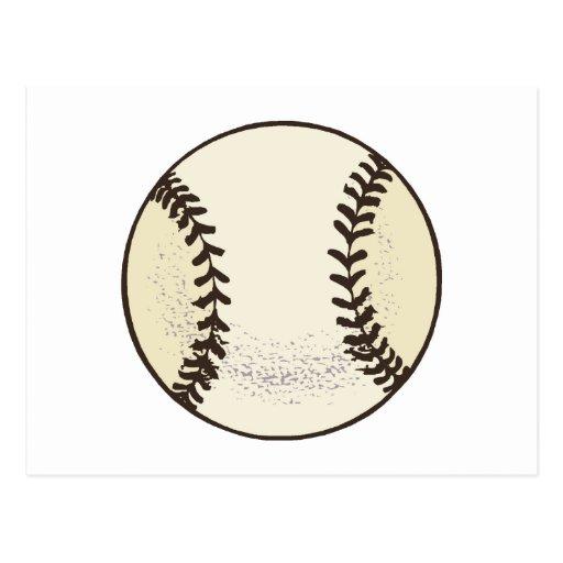 Baseball Ball 3 Postcard