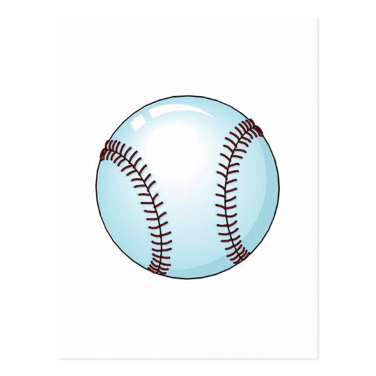 Baseball Ball 4 Postcard