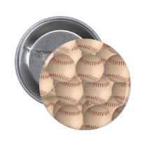 baseball ball  badge pinback button