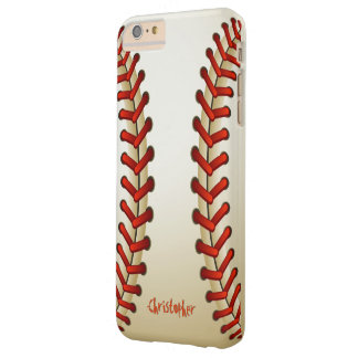 Baseball Ball Barely There iPhone 6 Plus Case