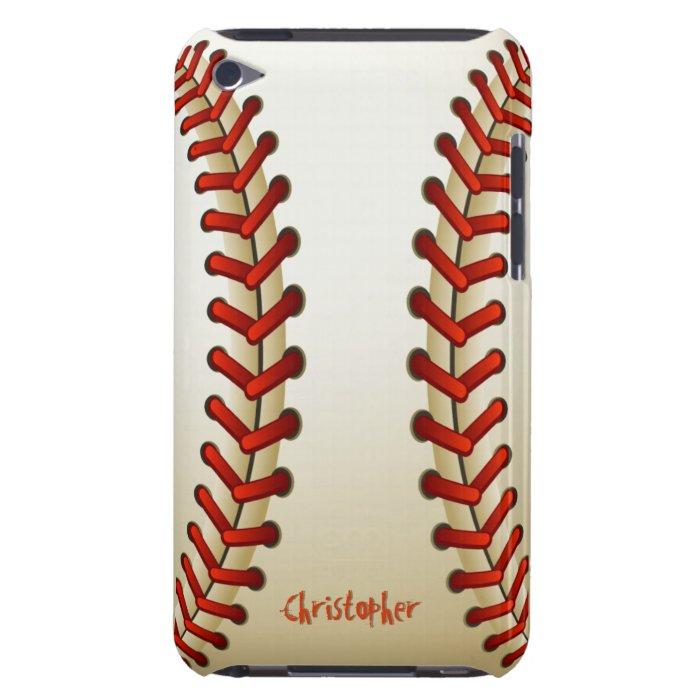 Baseball Ball Barely There iPod Cover