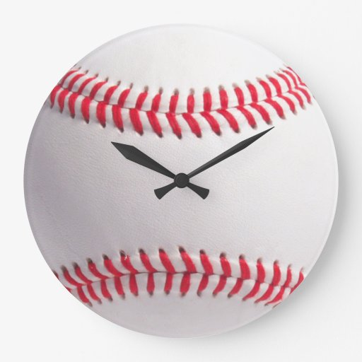 Baseball ball clock