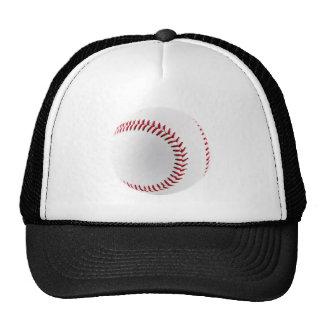 Baseball ball trucker hat