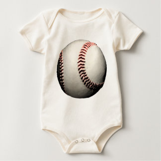Baseball Ball Major League Team Baby Bodysuit