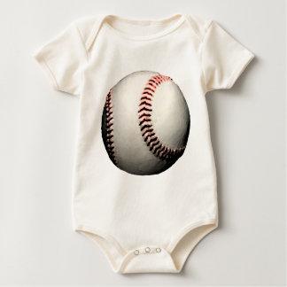 Baseball Ball Major League Team Baby Creeper