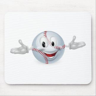 Baseball Ball Man Mousepads