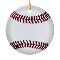baseball ball ornament