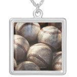 Baseball Ball Personalized Necklace