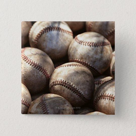 Baseball Ball Pinback Button