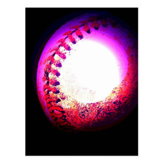 Baseball Ball Postcard