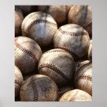 Baseball Ball Poster