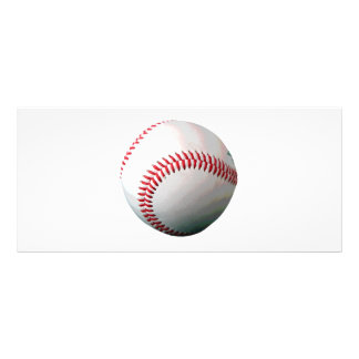 Baseball Ball Rack Card