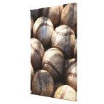 Baseball Ball Stretched Canvas Prints