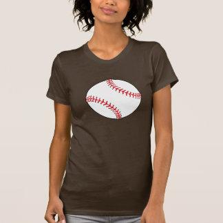 Baseball Ball Womens T-Shirt