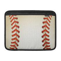 baseball balls MacBook air sleeve