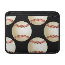 baseball balls MacBook sleeve