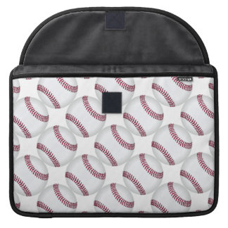 Baseball Balls Pattern Sports Sleeve For MacBook Pro
