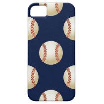 Baseball Balls Sports Pattern iPhone SE/5/5s Case