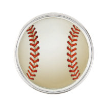 Baseball Balls Sports pattern Lapel Pin