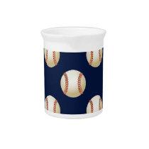 Baseball Balls Sports Pattern Pitcher