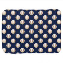 Baseball Balls Sports Pattern Receiving Blanket