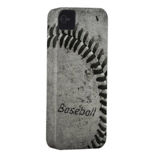 Baseball barely there case for iphone iPhone 4 case