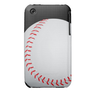 Baseball Barely There™ iPhone 3G/3G iPhone 3 Case-Mate Cases