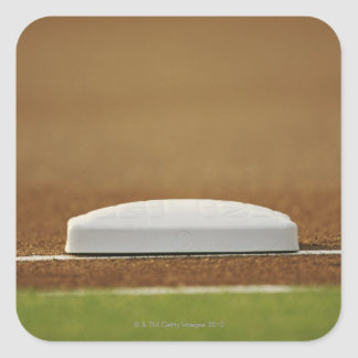 Baseball base sticker