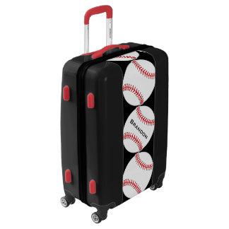 Baseball Baseballs Design Luggage