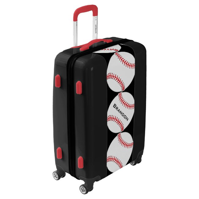 Baseball Baseballs Design Luggage