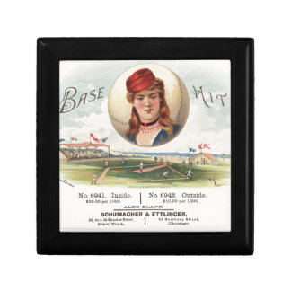 Baseball bases Hit song Vintage From Havana Gift Box