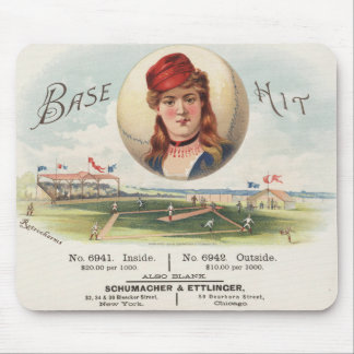 Baseball bases Hit song Vintage From Havana Mouse Pad