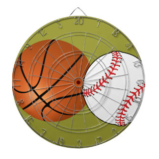 Baseball Basketball Sports Ball Custom Color Dartboard With Darts